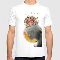 Inside Of Me Mens Fitted Tee White SMALL