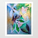 Life Force (1 of a triptych) Art Print
