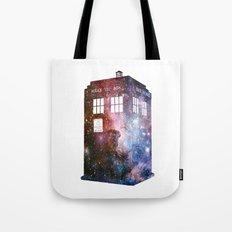 Galaxy Tardis Tote Bag