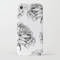 roses iPhone & iPod Cases featuring Roses  by Caitlin Workman