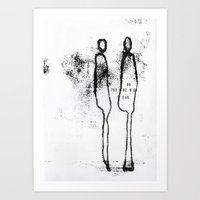 Who Are You? VII Art Print