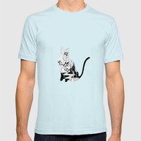Connoisseur of Comfort Mens Fitted Tee Light Blue SMALL