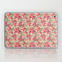 Roses In Retro Laptop & iPad Skin