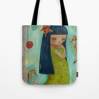 A Little Mermaid Tote Bag