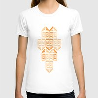 LONGO 1 Womens Fitted Tee White SMALL