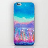 Colorful nature iPhone & iPod Skin