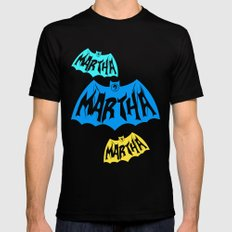 Martha Mens Fitted Tee SMALL Black
