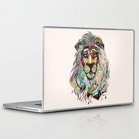 lion Laptop & iPad Skins featuring Lion by Felicia Atanasiu
