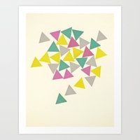 Order Within Chaos Art Print