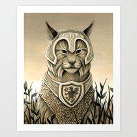 Sentry Art Print