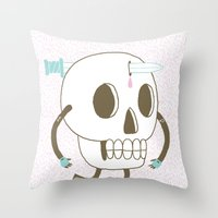 As I Skate Through The V… Throw Pillow