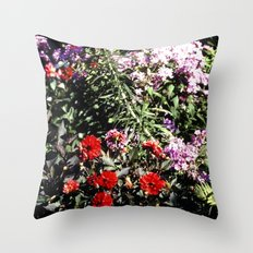 On the Family Road Trip Slide No.1 Throw Pillow