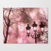 Paris Holiday Sparkling … Canvas Print
