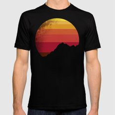 sandstorm Mens Fitted Tee SMALL Black
