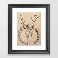 Dazed & Confused Framed Art Print