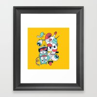 2065 Framed Art Print