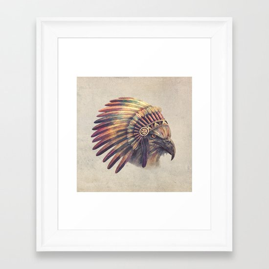 Eagle Chief  Framed Art Print