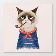 Sailor Cat V Canvas Print