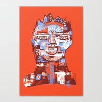 Red King Canvas Print