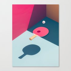 Pop Pong Canvas Print