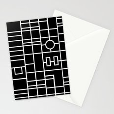 Map With Roundabout Stationery Cards
