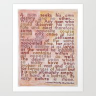 Art Print featuring Cormac McCarthy On The S… by Debbie Millman