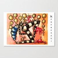 Bell Dancer Canvas Print