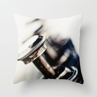 Tough Trumpet... Throw Pillow
