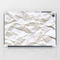White Trash iPad Case