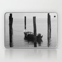 Boat on the lake Laptop & iPad Skin