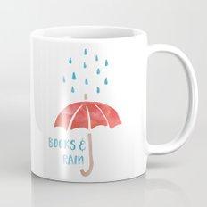 Books And Rain Mug