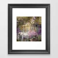 The Life Of A Girl In Th… Framed Art Print