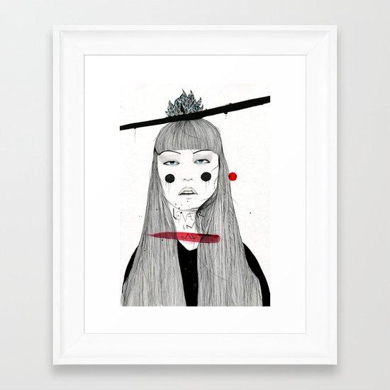 Lover in Me Framed Art Print