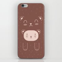 WILD + BEAR print iPhone & iPod Skin