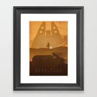 The Scavenger Framed Art Print