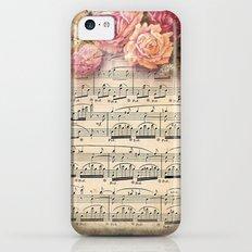 Vintage Music #2 iPhone 5c Slim Case