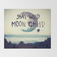stay wild Throw Blanket