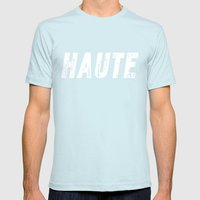 Haute - High Fashion Inv… Mens Fitted Tee Light Blue SMALL