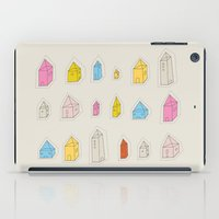 Transparent Houses iPad Case