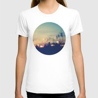 We're Only Young Once Womens Fitted Tee White SMALL