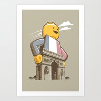 L'Arc De Trouser Art Print
