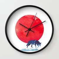 Fear The Red Wall Clock
