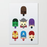 The Avengers: Earth's Mi… Canvas Print