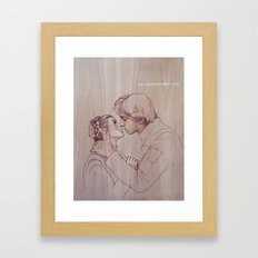What Are You Afraid Of? Framed Art Print