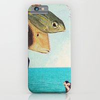 iPhone & iPod Case featuring fisher by Laura Moctezuma