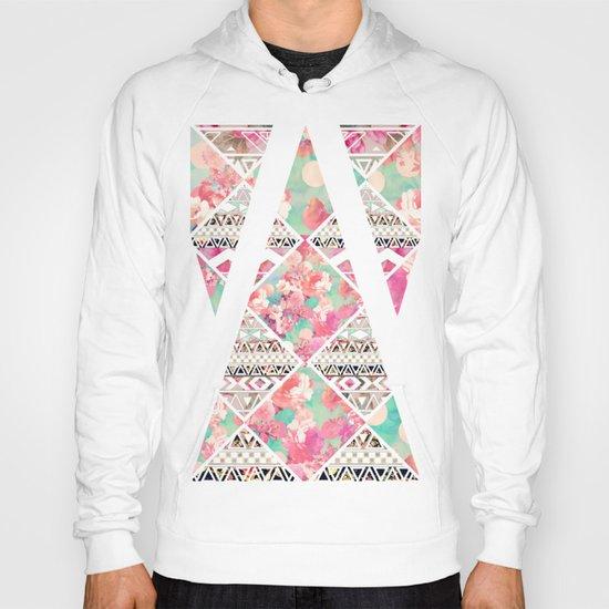 Aztec Floral  Diamond Hoody