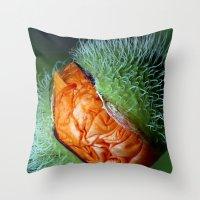 The Alien Throw Pillow