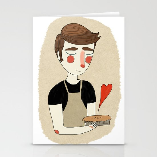 The Piemaker Stationery Card