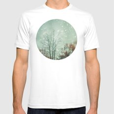 First Snowfall  Mens Fitted Tee White SMALL