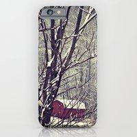 iPhone & iPod Case featuring Out Behind The Barn  by DeLayne